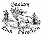 """Logo Gasthof """"Zum Hirschen"""""""
