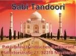 """Logo Restaurant """"Sabi Tandoori"""" pakistanisch-indisches Restaurant"""