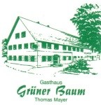 "Logo Thomas Mayer Gasthaus ""Grüner Baum"""