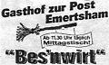Logo Bes'nwirt Inh. Marianne Gruber