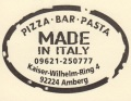 Logo Pizza – Bar – Pasta Made in Italy
