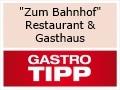"""Logo """"Zum Bahnhof""""  Restaurant & Gasthaus"""