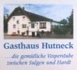 Logo Gasthaus Hutneck Sigmund & Rosi Moosmann