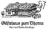 Logo Gästehaus zum Thoma   H. u. M. Kandlinger
