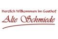 """Logo Gaststätte """"Alte Schmiede"""""""