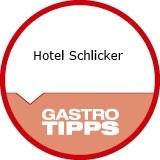 """Logo Hotel Schlicker  """"Zum Goldenen Löwen"""""""