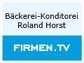 Logo Bäckerei - Konditorei  Roland Horst