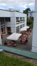 Café im Bauhaus Archiv  Frau Magdalena Dobrowolska