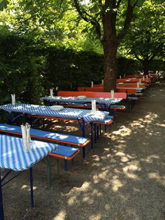 Biergarten & Eventgastronomie  Kastaniengarten im Botanischen Garten