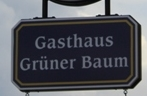 Logo Gasthaus Grüner Baum