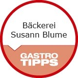 Logo Bäckerei  Susann Blume