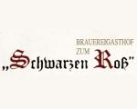 Logo Brauereigasthof  Zum Schwarzen Ross