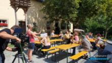 Oberfränkisches Bauernhofmuseum Brotzeitstube, Pächter Familie Rödel