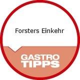 Logo Gastwirtschaft Forsters Einkehr