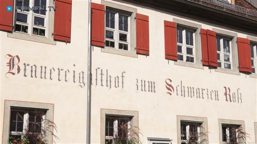 Filmreportage zu Brauereigasthof  Zum Schwarzen Ross