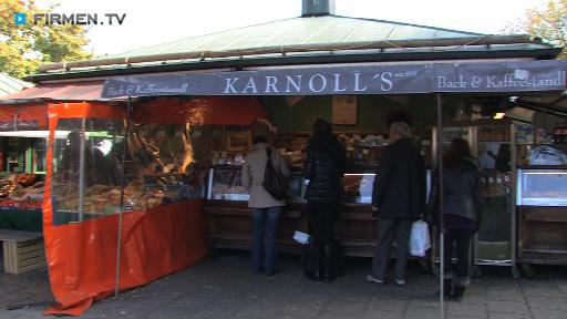 Filmreportage zu Karnoll's Back- und Kaffeestandl