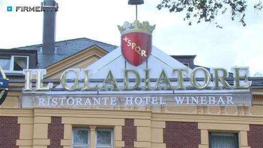 Filmreportage zu Il Gladiatore Ristorante - Hotel - Winebar
